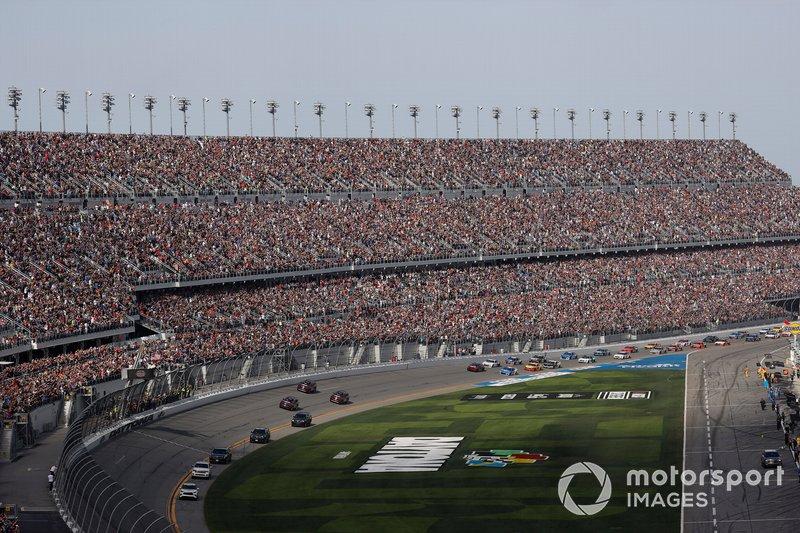 El Presidente Donald J. Trump, en la Daytona 500