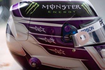Helmet of Lewis Hamilton, Mercedes