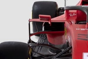 Ferrari SF1000 side detail