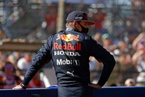 Max Verstappen, Red Bull Racing, 1st position, after the sprint race