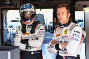 #3 Easy Race, Ferrari 488 GT3 Evo: Luca Filippi, Matteo Greco