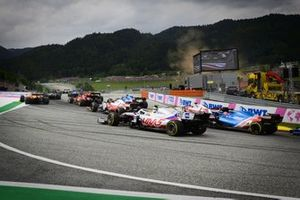 Mick Schumacher, Haas VF-21, Esteban Ocon, Alpine A521, Antonio Giovinazzi, Alfa Romeo Racing C41