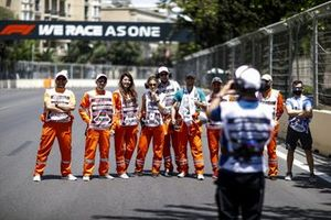 Marshals taking a group photo