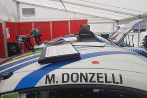 Auto di Massimiliano Donzelli, Team Malucelli