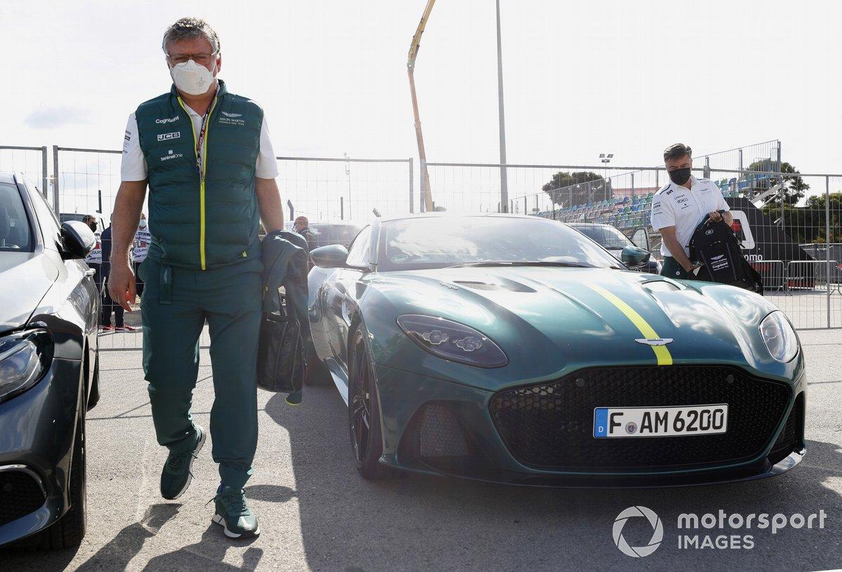 Otmar Szafnauer Aston Martin