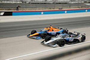 Felix Rosenqvist, Arrow McLaren SP Chevrolet, Ed Carpenter, Ed Carpenter Racing Chevrolet