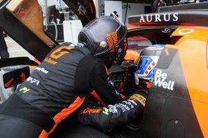 #26 G-Drive Racing Aurus 01 – Gibson: Roman Rusinov, Nyck De Vries