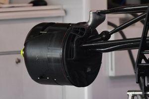 Alfa Romeo C41 front brake duct detail