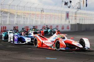 Alexander Sims, Mahindra Racing, M7Electro, Maximilian Guenther, BMW I Andretti Motorsports, BMW iFE.21, Sam Bird, Jaguar Racing, Jaguar I-TYPE 5