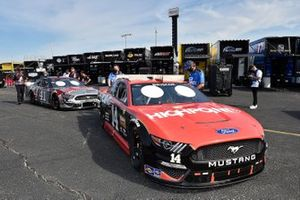 Chase Briscoe, Stewart-Haas Racing, Ford Mustang HighPoint.com Throwback