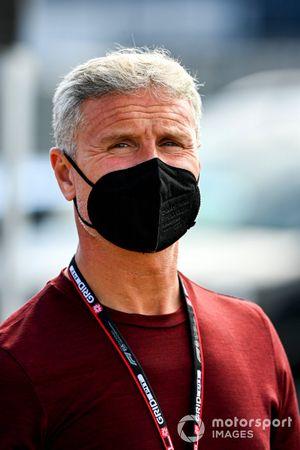 Presenter David Coulthard.