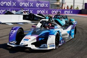 Jake Dennis, BMW I Andretti Motorsport, BMW iFE.21, Sam Bird, Jaguar Racing, Jaguar I-TYPE 5