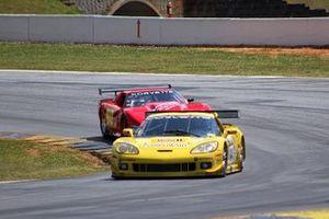 Robert Blain, 2004 Chevrolet Corvette C6R 7000, Jeff Bernatovich, 1990 Chevrolet Corvette GT1 5822
