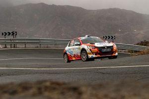 Josep Bassas Mas, Axel Coronado Jiménez, Peugeot 208 Rally4