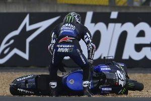 Accidente de Maverick Viñaales, Yamaha Factory Racing