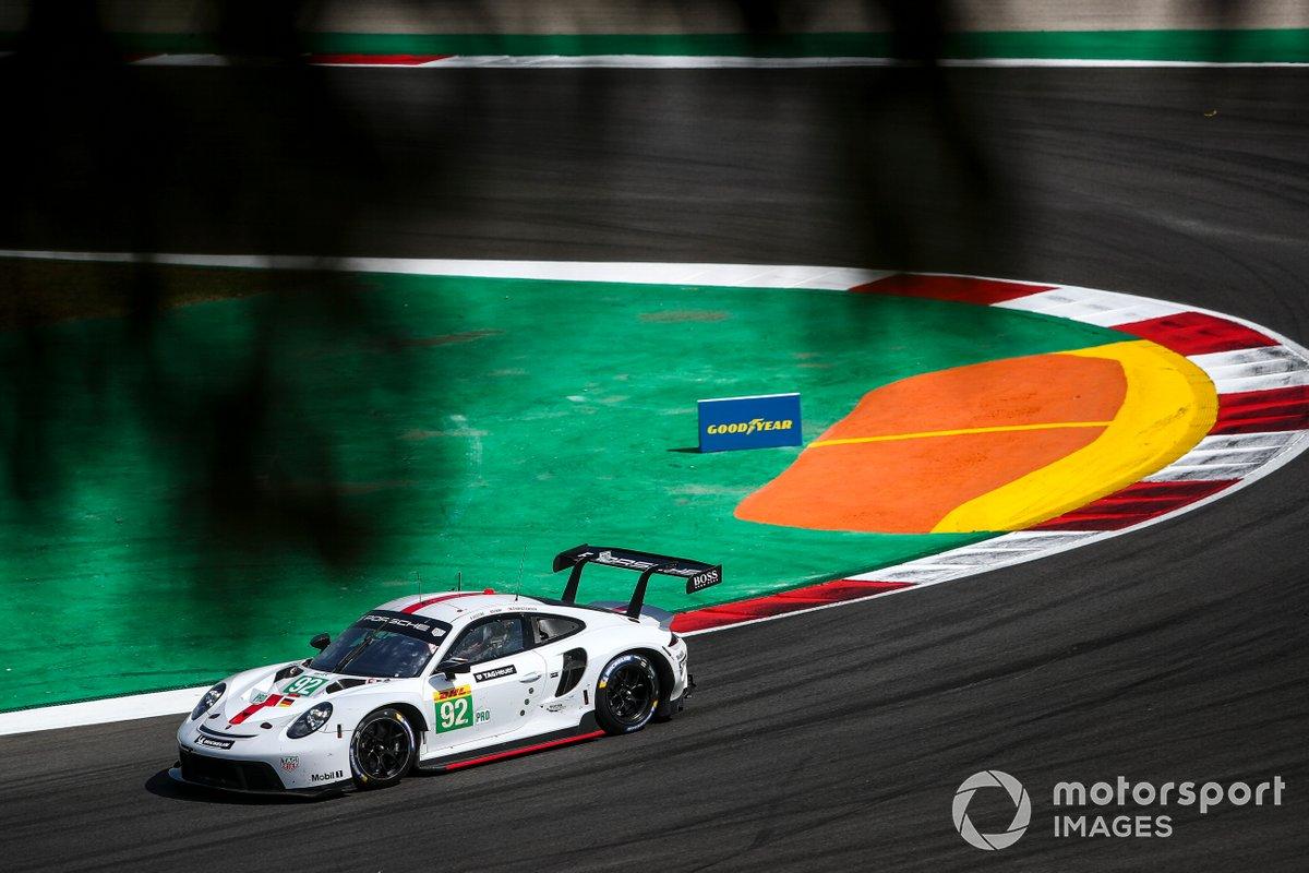 #92 Porsche GT Team Porsche 911 RSR - 19: Kevin Estre, Neel Jani, Michael Christensen