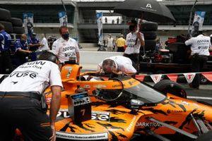 Felix Rosenqvist, Arrow McLaren SP Chevrolet, Johnny Rutherford