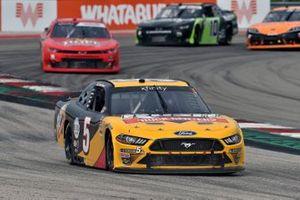 Kevin Harvick, B.J. McLeod Motorsports, Ford Mustang Rush Truck Centers