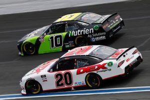 Harrison Burton, Joe Gibbs Racing, Toyota Supra DEX Imaging, Jeb Burton, Kaulig Racing, Chevrolet Camaro Nutrien Ag Solutions