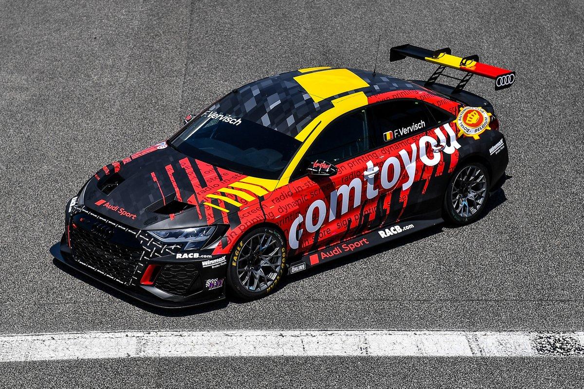 Frédéric Vervisch, Comtoyou Team Audi Sport, Audi RS 3 LMS TCR