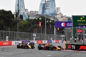 Jehan Daruvala, Carlin AND Liam Lawson, Hitech Grand Prix