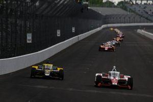 Colton Herta, Andretti Autosport Honda, JR Hildebrand, A.J. Foyt Enterprises Chevrolet