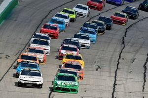 Kyle Busch, Joe Gibbs Racing, Toyota Supra Extra Gum, A.J. Allmendinger, Kaulig Racing, Chevrolet Camaro Hyperice