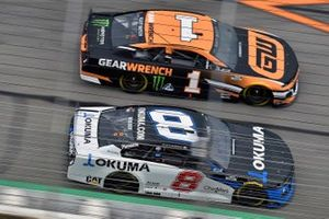 Kurt Busch, Chip Ganassi Racing, Chevrolet Camaro GEARWRENCH, Tyler Reddick, Richard Childress Racing, Chevrolet Camaro Okuma