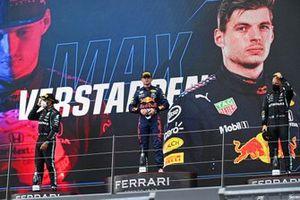 Lewis Hamilton, Mercedes, Max Verstappen, Red Bull Racing