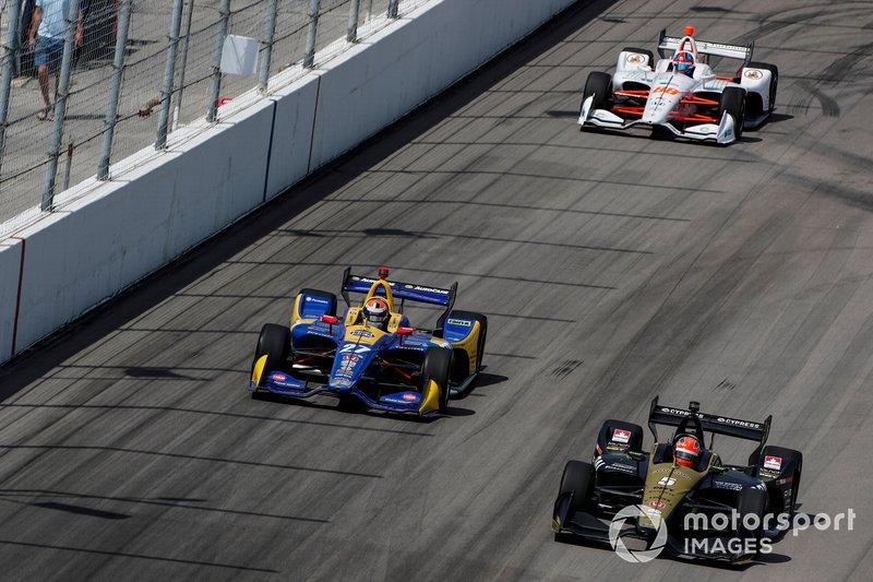 Marcus Ericsson, Arrow Schmidt Peterson Motorsports Honda, James Hinchcliffe, Arrow Schmidt Peterson Motorsports Honda