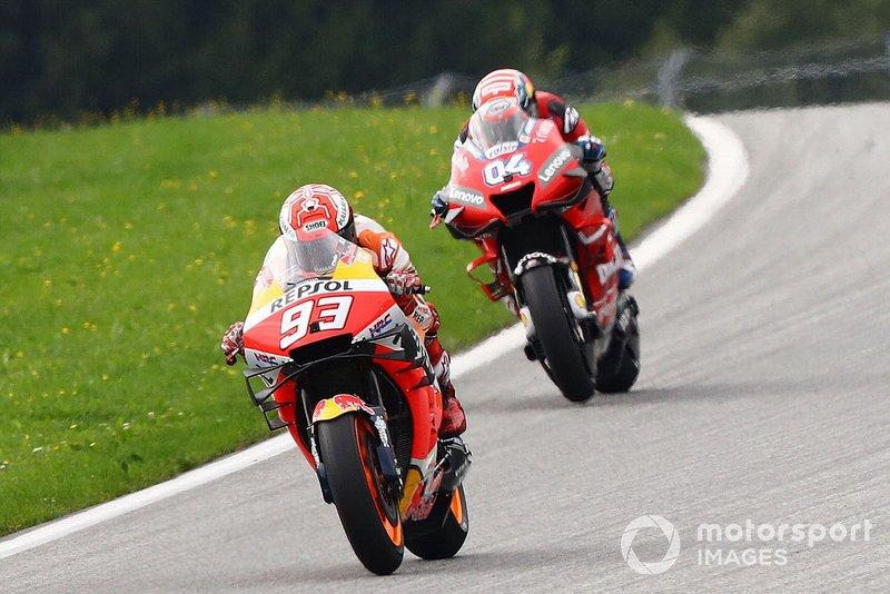 Marc Marquez, Repsol Honda Team, Andrea Dovizioso, Ducati Team, MotoGP