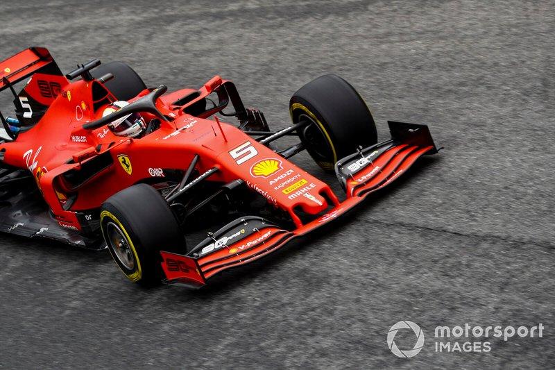 4 - Sebastian Vettel, Ferrari SF90 - 1'19.457