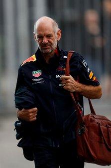 Adrian Newey, jefe técnico de Red Bull Racing