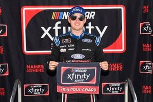 Pole sitter Chase Briscoe, Biagi-DenBeste Racing, Ford Mustang Ford Performance