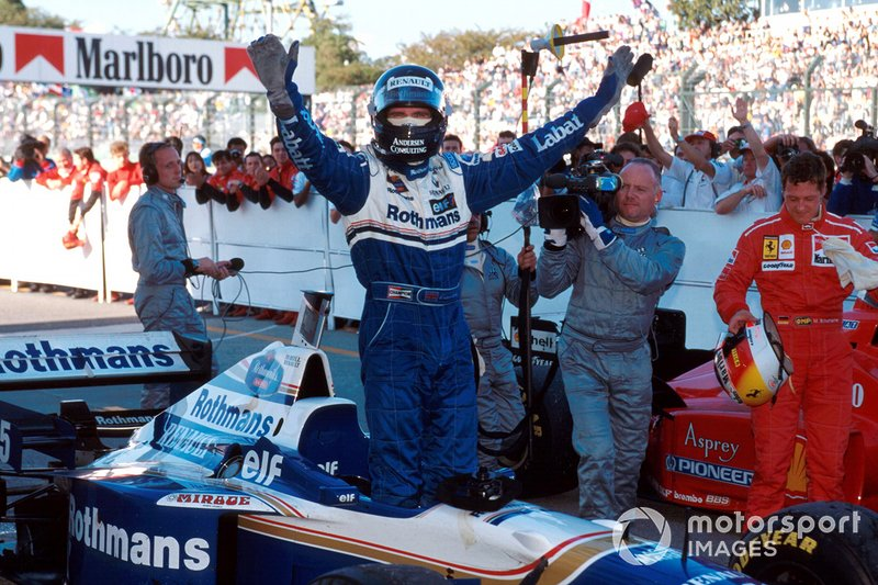 Damon Hill - 21 victorias con Williams