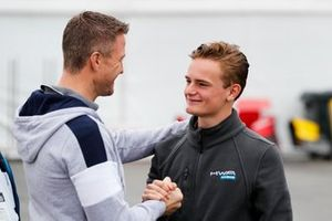 Ralf Schumacher en Bent Viscaal, HWA RACELAB