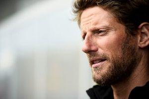 Romain Grosjean, Haas F1 speaks to the media