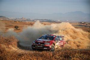 Nasser Al-Attiyah, Matthieu Baumel, Volkswagen Polo R5, Cyprus Rally, FIA ERC