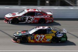 Chris Buescher, JTG Daugherty Racing, Chevrolet Camaro Kroger Fast Start Ty Dillon, Germain Racing, Chevrolet Camaro K&L Ready Mix