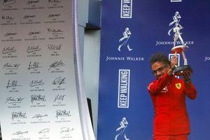 Podio: Laurent Mekies, Director deportivo Ferrari