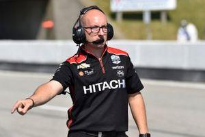 Travis Law, le chef mécano de Josef Newgarden, Team Penske Chevrolet