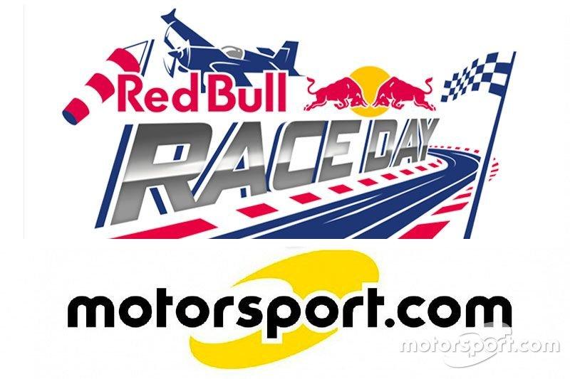 Collaborazione fra il Red Bull Race Day e Motorsport.com Svizzera, logotipo