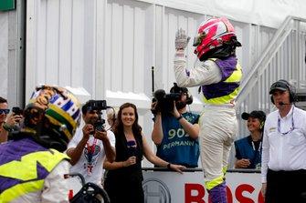 Ganadora de la carrera Marta García