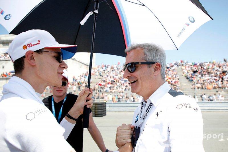 Shelton van der Linde, BMW Team RBM, Jens Marquardt, BMW Motorsport Director