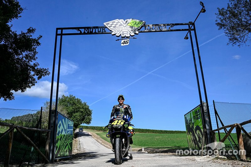 Valentino Rossi, Yamaha Factory Racing, au Ranch