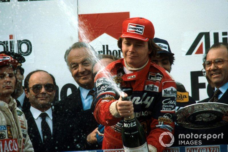 1982: Didier Pironi (Ferrari) statt Keke Rosberg (Williams)