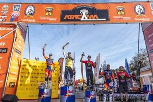Podio final del Rally Atacama 2019