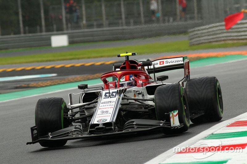 Antonio Giovinazzi, Alfa Romeo Sauber C38