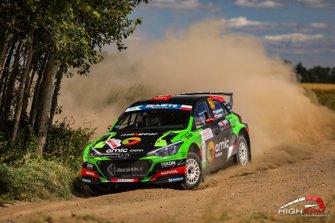 Łukasz Byśkiniewicz, Zbigniew Cieślar, Hyundai i20 R5, Rally Poland, FIA ERC, RSMP