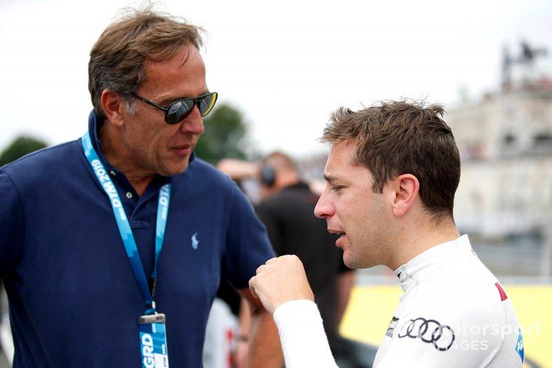 Patrick Huisman and Robin Frijns, Audi Sport Team Abt Sportsline